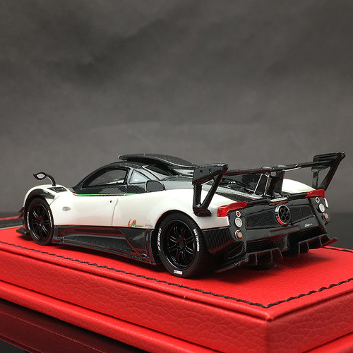 1/43 Peako Resin Pagani Zonda 760 LM 760LM (White) Car Model Limited 30