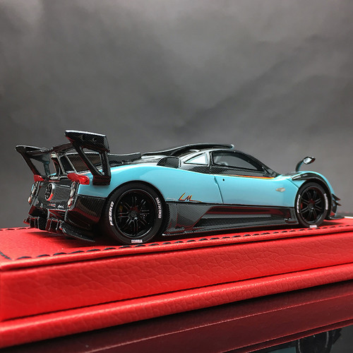 1/43 Peako Resin Pagani Zonda 760 LM 760LM (Blue) Car Model Limited 30