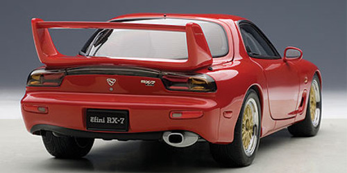 1/18 AUTOart MAZDA ɛ̃fini RX-7 RX7 (FD) TUNED VERSION (VINTAGE RED) Diecast Car Model