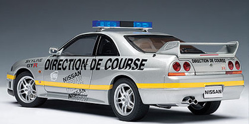 1/18 AUTOart NISSAN SKYLINE GT-R GTR (R33) LEMANS PACE CAR 1997 Diecast Car Model