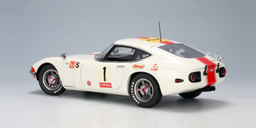 1/18 AUTOart TOYOTA 2000GT 2000 GT 24 HRS FUJI 1967 #1 Diecast Car Model