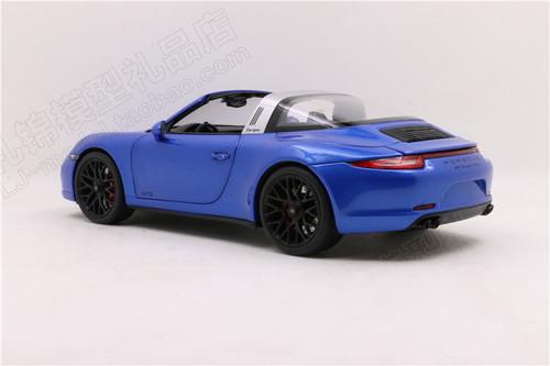 1/18 Schuco 911 Carrera GTS Convertible (Blue) Diecast Car Model