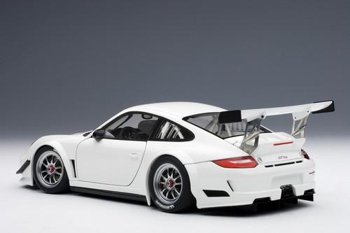 1/18 AUTOart PORSCHE 911(997) GT3 R 2010 PLAIN BODY VERSION (WHITE) Diecast Car Model