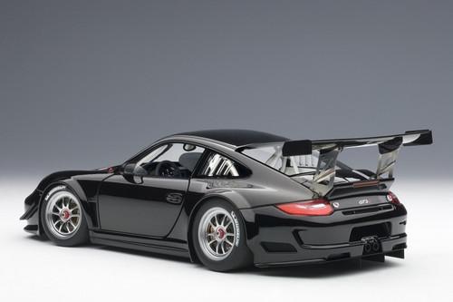 1/18 AUTOart PORSCHE 911(997) GT3 R 2010 PLAIN BODY VERSION (BLACK) Diecast Car Model
