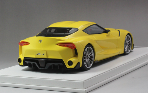 1/18 AutoBarn AB Toyota FT-1 FT1 Concept Car (Yellow) Resin Car Model