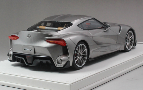 1/18 AutoBarn AB Toyota FT-1 FT1 Concept Car (Silver) Resin Car Model