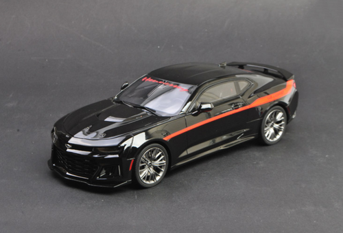 1/18 GTSpirit GT Spirit Chevrolet Chevy Camaro ZL1 Hennessey (Black) Resin Car Model Limited 999