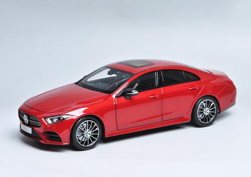 1/18 Dealer Edition 2017 Mercedes-Benz MB Mercedes CLS CLS-Class CLS-Klasse CLS450 Coupe (Red) Diecast Car Model