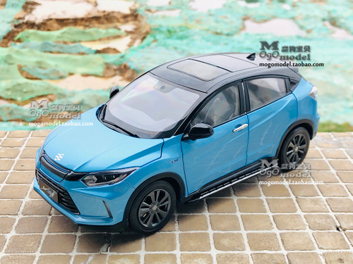 1/18 Dealer Edition 2019 Honda Everus VE-1 VE1 HR-V HRV EV (Blue) Diecast Car Model