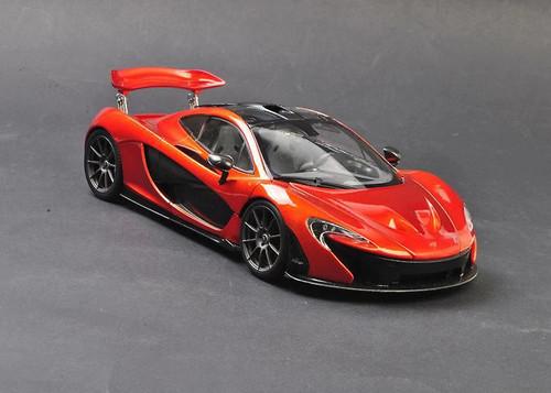 1/18 Dealer Edition McLaren P1 (Orange) Diecast Car Model