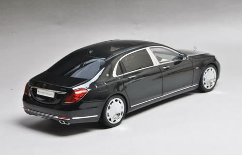 1/18 Almost Real Almostreal Mercedes-Benz MB Mercedes Maybach S600 (Black) Diecast Car Model