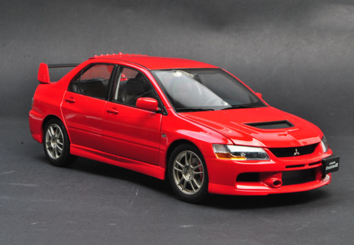 1/18 Super A SuperA Mitsubishi Evo 9 Evo9 Evo IX 9th Generation (Red) Diecast Car Model Limited 999