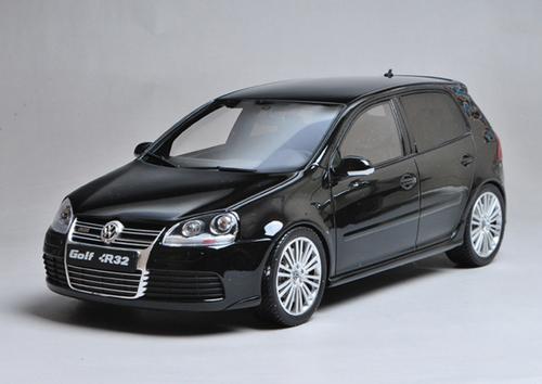 1/18 OTTO Volkswagen VW Golf V R32 (Black) Resin Car Model Limited 1500