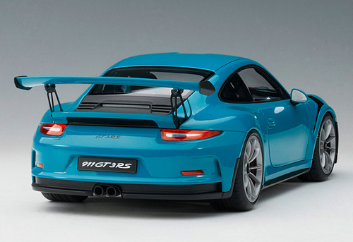 1/18 AUTOart PORSCHE 911(991) GT3 RS (MIAMI BLUE/DARK GREY WHEELS) Diecast Car Model