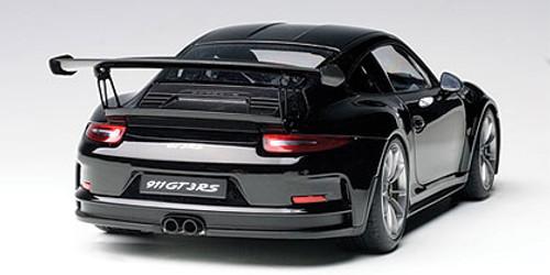 1/18 AUTOart PORSCHE 991 GT3 RS (GLOSS BLACK /BLACK WHEELS) Diecast Car Model