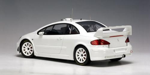 1/18 AUTOart PEUGEOT 307 WRC 2005 PLAIN BODY VERSION (WHITE) Diecast Car Model 80558
