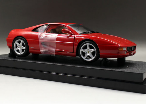 1/18 Hot Wheels Ferrari F355 Berlinetta (Red) Diecast Model