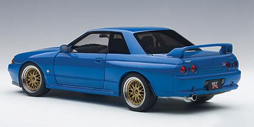 1/18 AUTOart NISSAN SKYLINE GT-R GTR (R32) V-SPEC II TUNED VERSION (BLUE) Limited 1500 Diecast Car Model 77415