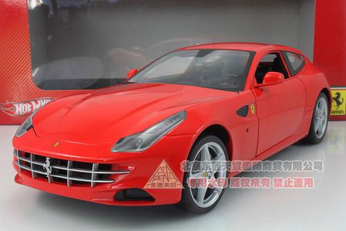 1/18 Hot Wheels Hotwheels Ferrari FF (Red) Diecast Car Model