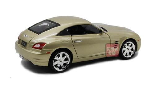 1/18 Chrysler Crossfire (Champagne) Diecast Car Model