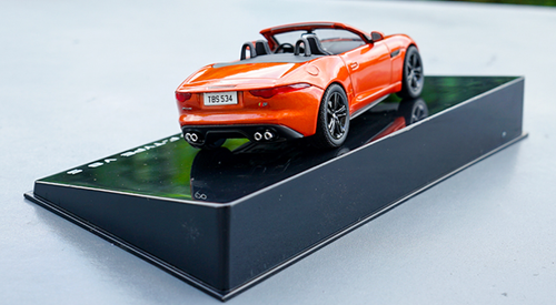 1/43 Dealer Edition Jaguar F-Type FType V8 S (Orange) Diecast Car Model