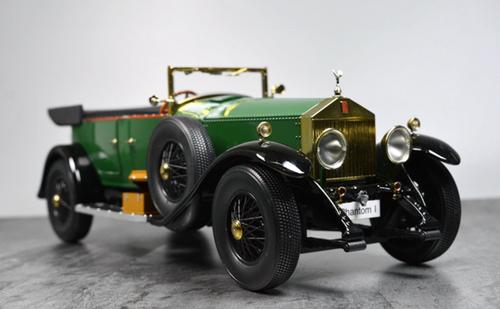 1/18 Kyosho 1927 Rolls-Royce Phantom ONE Phantom I Phantom 1 (Green) Diecast Model