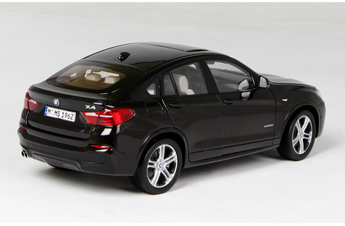 1/18 Paragon BMW X4 F26 (2014–2018) (Black) Diecast Car Model