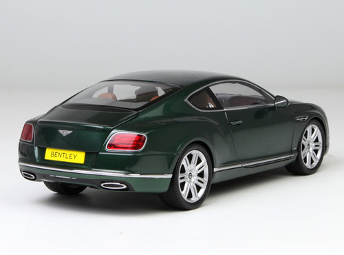 1/18 Paragon 2016 Bentley Continental GT Hardtop (Green) Diecast Car Model