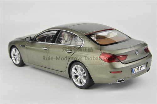 1/18 Paragon BMW 6 Series 650i GranCoupe (Champagne) Diecast Car Model