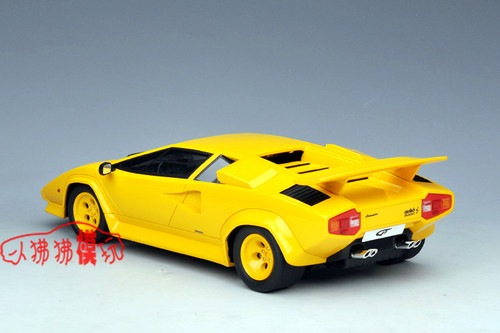 1/18 GT Spirit GTSpirit Lamborghini Countach (Yellow) Resin Car Model