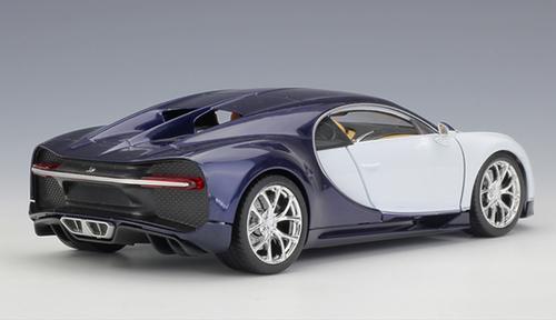 1/24 Welly FX Bugatti Chiron (White) Diecast Car Model