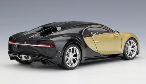 1/24 Welly FX Bugatti Chiron (Gold) Diecast Car Model