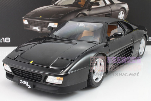 1/18 Hot Wheels Hotwheels Ferrari 348 TS 348TS (Black) Diecast Car Model