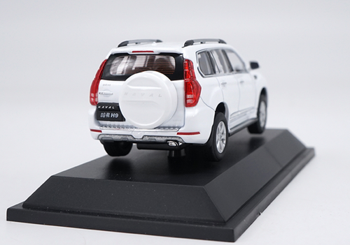 1/43 Dealer Edition Great Wall Haval H9 (White) Diecast Car Model