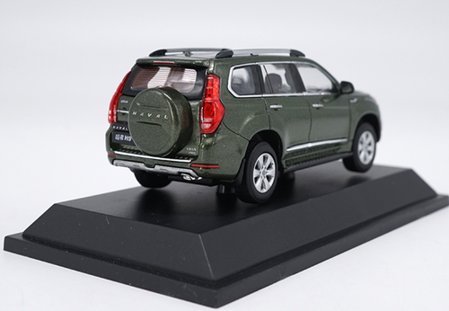 1/43 Dealer Edition Great Wall Haval H9 (Green) Diecast Car Model