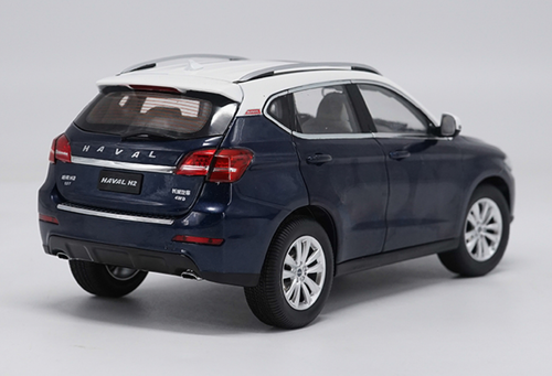 1/18 Dealer Edition Great Wall Haval H2 (Blue) Diecast Car Model