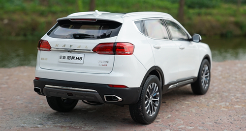 1/18 Dealer Edition Great Wall Haval H6 (White) Diecast Car Model