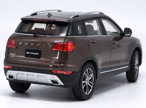 1/18 Dealer Edition Great Wall Haval H6 Coupe (Brown) Diecast Car Model