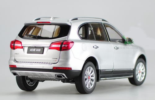 1/18 Dealer Edition Great Wall Haval H8 (Silver) Diecast Car Model