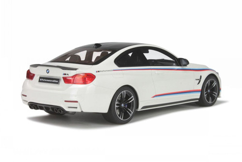 1/18 GT Spirit GTSpirit BMW F82 M4 M Performance Edition (White) Resin Car Model