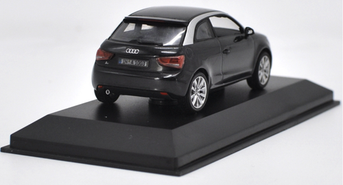 1/43 Dealer Edition Audi A1 (Black) Diecast Car Model