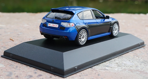 1/43 J-Collection JCollection Subaru WRX Impreza WRX STI (Blue) Diecast Car Model
