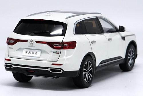 1/18 Dealer Edition Renault Koleos (White) Diecast Car Model
