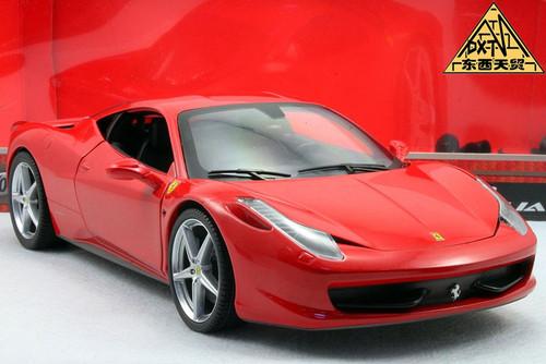 1/18 Ferrari 458 Italia (Red)