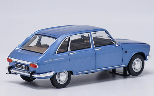 1/18 Norev 1967 Renault 16 Sixteen (Blue) Diecast Car Model