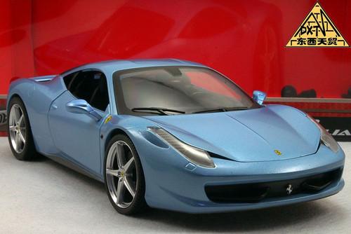 1/18 Ferrari 458 Italia (Blue)