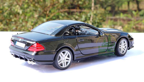 1/18 Maisto Premium Edition Mercedes-Benz MB SL65 AMG Coupe (Black) Diecast Car Model