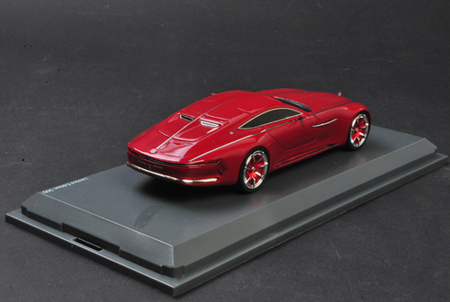1/43 Shuco Mercedes-Benz MB Mercedes Maybach Vision 6 Cabriolet (Red) Resin Car Model