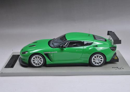 1/18 Tecnomodel Aston Martin Zagato (Green) Resin Car Model Limited 150