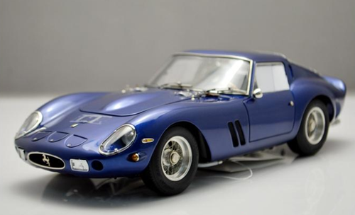 RARE 1/18 CMC 1962 Ferrari 250 GTO 250GTO (Blue) Diecast Car Model